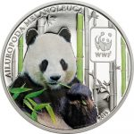 Central African Republic - 2015 - 100 Francs CFA - WWF Panda (including box) (PROOF)