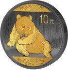 China - 2015 - 10 Yuan - Golden Enigma PANDA (PROOF)