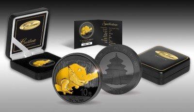 China - 2016 - 10 Yuan - Golden Enigma PANDA (PROOF)