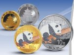 China - 2016 - 10 & 100 Yuan - Panda Prestige Diamond Set  (BU)
