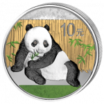 China - 2015 - 10 Yuan - Panda Colored (BU)
