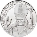 Cook Islands - 2013 - 5 dollar - Resignation of Benedict XVI  (PROOF)