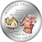 Cook Islands - 2009 - 1 Dollar - 7 Mystical Creatures BABA YAGA (PROOF)