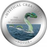 Cook Islands - 2009 - 1 Dollar - 7 Mystical Creatures NESSIE (PROOF)
