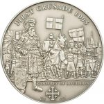 Cook Islands - 2009 - 5 Dollars - History of the Crusades FIRST CRUSADE (ANTIQUE)