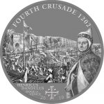 Cook Islands - 2010 - 5 Dollars - History of the Crusades 4nd Crusade DOGE DE VENICE (ANTIQUE)
