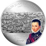 Cook Islands - 2010 - 5 Dollars - Great Battles & Commanders DON JUAN DE AUSTRIA (PROOF)