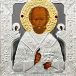 Cook Islands - 2010 - 5 Dollars - Russian Icons St. Nicholas (PROOF)