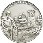 Cook Islands - 2011 - 5 Dollars - History of the Crusades 5TH Crusade KING OF JERUSALEM (ANTIQUE)