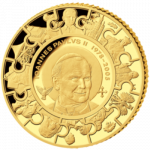 Cook Islands - 2014 - 1 Dollar - John Paul II Canonization 1/50 oz Gold (PROOF)