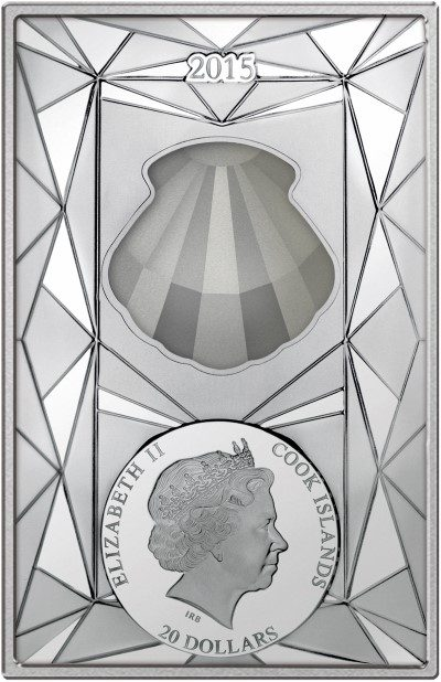 Cook Islands - 2015 - 20 Dollars - Silver Luxury Line 2015 (PROOF)