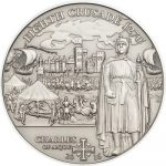 Cook Islands - 2016 - 5 Dollars - History of the Crusades 8th CRUSADE CHARLES OF ANJOU(including box) (ANTIQUE)