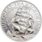 Cook Islands - 2016 - 2 Dollars - The Great Tea Race 8g (including box) (PROOF)