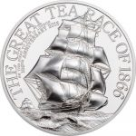 Cook Islands - 2016 - 10 Dollars - The Great Tea Race 2oz PIEDFORT (including box) (PROOF)
