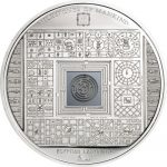 Cook Islands - 2016 - 10 Dollars - Milestones of Mankind EGYPTIAN LABYRINTH (including box) (PROOF)