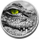 Congo - 2016 - 2000 Francs CFA - Nature's Eyes CHINA-ALLIGATOR (ANTIQUE)