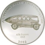 Congo - 2002 - 10 Francs - Alfa Romeo 1913 (PROOF)