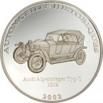 Congo - 2002 - 10 Francs - Audi Alpensieger 1912 (PROOF)