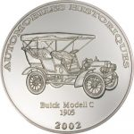 Congo - 2002 - 10 Francs - Buick Model C 1905 (PROOF)