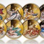 Fiji - 2012 - 12x1 Dollar - Twelve Apostles Set (including matching box) (PROOF)