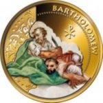 Fiji - 2012 - 1 Dollar - Twelve Apostles BARTHOLOMEW (PROOF)