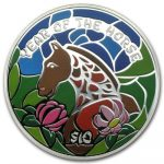 Fiji - 2014 - 10 Dollars - Lunar Year of the Horse (PROOF)