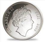Fiji - 2009 - 1 Dollar - Animals of the World LEOPARD silver (PROOF)