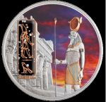 Fiji- 2012 - 50 dollars - Egyptian Jewels HORUS (PROOF)