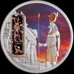 Fiji- 2012 - 50 dollars - Egyptian Jewels HORUS (PROOF)