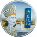 Fiji - 2012 - 50 Dollars - Egyptian Jewels NEFERTITI (PROOF)
