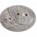 Fiji - 2013 - 10 dollar - Wildlife Oval Coins KOALA (PROOF)