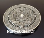 Fiji - 2015 - 10 Dollars - Mandala Art I KALACHAKRA (PROOF)