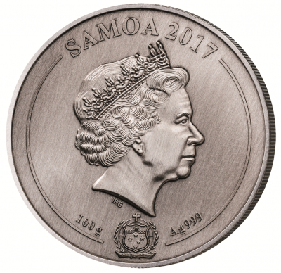Samoa - 2017 - 10 Dollars - United States Capital 4 Layer