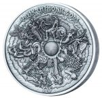 Samoa - 2017 - 25 Dollars - Greek Chtonic Gods Kilo Silver Coin