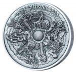 Samoa - 2017 - 25 Dollars - Greek Chtonic Gods Kilo Silver Coin