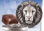 Ivory Coast - 2016 - 5000 Francs - Mauquoy BIG FIVE LION (ANTIQUE)