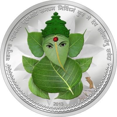 Ivory Coast - 2013 - 1001 Francs - God Lord Ganesha (PROOF)