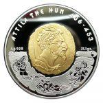 Kazakhstan - 2009 - 100 Tenge - Attila the Hun (PROOF)