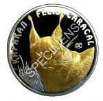 Kazakhstan - 2009 - 100 Tenge - Disappearing Animals CARACAL (PROOF)