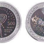 Kazakhstan - 2009 - 500 Tenge - Space SOYUZ APOLLO (PROOF)
