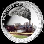 Liberia - 2011 - 5 Dollars - History of Railroads MÁV 220 (PROOF)