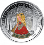 Liberia - 2 dollar - Angel (PROOF)