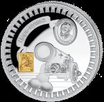 Liberia - 2011 - 5 dollar - Kremlin Tsar Canon (PROOF)
