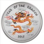 Laos - 2012 - 1000 Kip - Year of Dragon COLOR (PROOF)