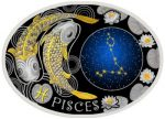 Macedonia - 2015 - 10 Denars - Zodiac Signs PISCES (PROOF)
