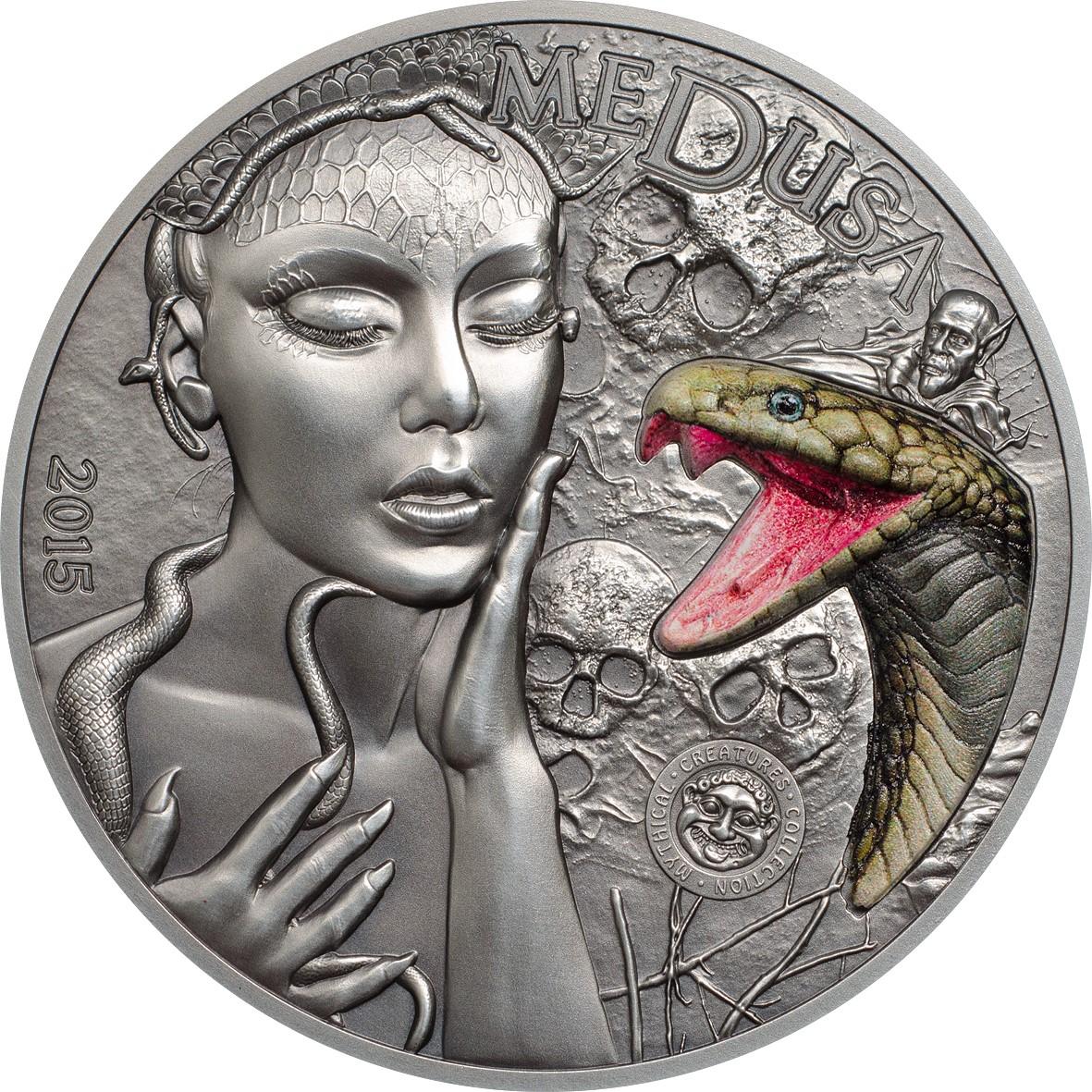 Palau - 2015 - 10 Dollars - Medusa