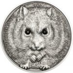 Mongolia - 2015 - 500 Togrog - Cambell's Hamster Silver (including box) (PROOF)