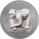 Mongolia - 2016 - 500 Togrog - Year of the Monkey (including box) (PROOF)