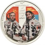 Mongolia - 2011 - 500 Tugrik - First Man in Space (PROOF)