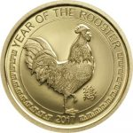 Mongolia - 2017 - 1000 Togrog - Year of the Rooster GOLD (PROOF)